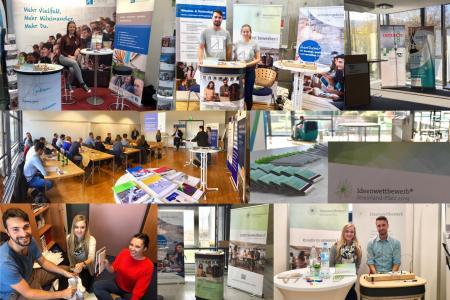 Fotos: Ideenwettbewerb RLP Projektteam / Werbeveranstaltungen und -aktionen 2019